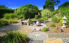 Steingarten Mit Granit Natursteine Für Den Garten Biotopic Gmbh
