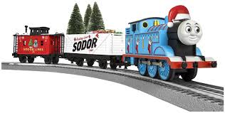 amazon com lionel thomas christmas freight train set o gauge