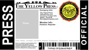 free press pass the yellow press