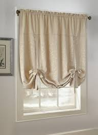 Curtains With Ties Tie Up Valance Foter