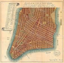Downtown Manhattan Map 1807 Huge Historic New York City Map Plan Restoration Hardware