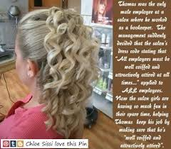 sissies with feminine hairstyles stories 82 best salon time images on pinterest chignons hairstyle and blond