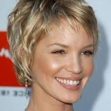 short hairstyles for thick hair women over 40 short haircut