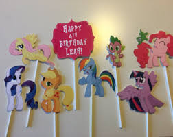 my pony centerpieces my pony birthday party centerpiece favors guest table