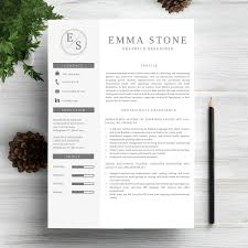 Resume Template For Professionals 6 Professional Resume Cv Templates Master Bundles