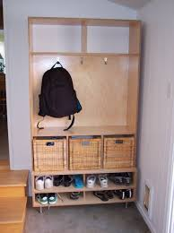 hand made coat shoes hats and glove entry cabinet by mc keown