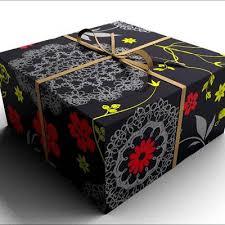 black gift wrap 3d model gift wrap 9 95 buy