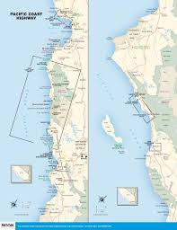 San Diego Zip Code Map by California Pacific Coast Highway Map California Map