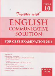together with english communicative solution for cbse examination