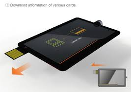 electronic cards all in one credit card yanko design