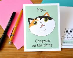 congratulations promotion card promotion card etsy