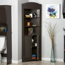 Corner Cabinet Dining Room Hutch Oxford Black Corner Curio Cabinet With Light Best Home Furniture