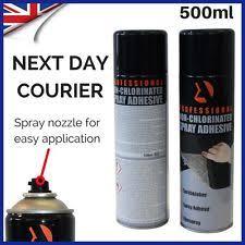Glue For Upholstery Foam Adhesive Spray Ebay