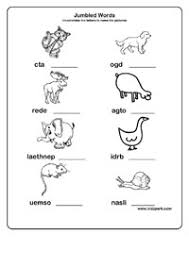 scrambled words worksheets for class 1 2 3 printable word