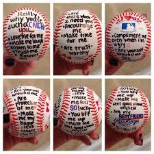 gift for baseball player boyfriend stuff