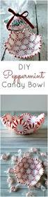 diy peppermint candy bowls princess pinky