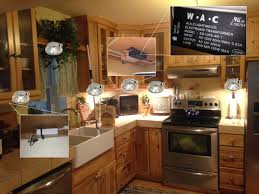 how to install led puck lights kitchen cabinets convert cabinet puck lights to led with existing