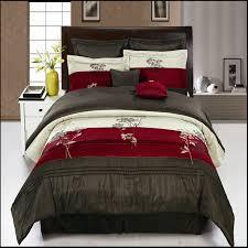 12pc burgundy portland bed in a bag elegantlinensanddecor com
