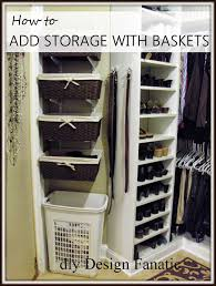 diy design fanatic an easy way to add space to your master closet