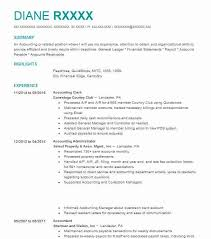 Detailed Resume Example by Best Accounting Clerk Resume Example Livecareer