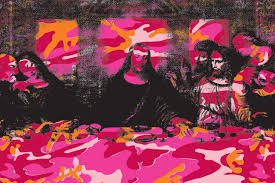 the last supper mural flavor paper the last supper mural poppy camo