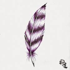 derrick the artist how to draw a feather with colored pencils