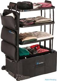 Georgia how to fold a suit for travel images Shelfpack the suitcase with shelves luggage with built in shelves jpg