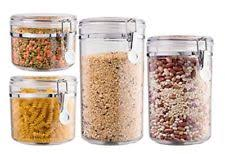 clear glass canisters for kitchen clear glass food nut dried fruits storage pots jars canister kitchen