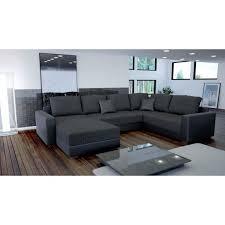 canapé en u canapé en u panoramique still avec lit achat vente canapé sofa