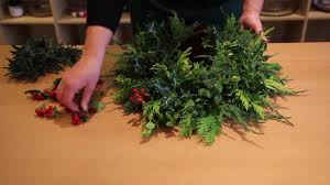 oasis floral products how to a christmas wreath youtube