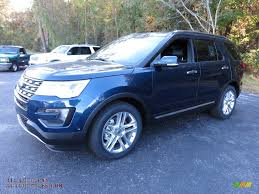 Ford Explorer Blue - 2016 ford explorer limited in blue jeans metallic photo 12