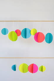 diy colorful paper ornaments julep