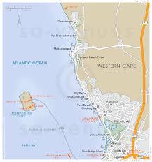 africa map islands blaauwberg map south africa