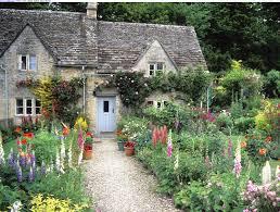 cottage style backyards cute cottage garden plus rock backyard landscaping idea feat