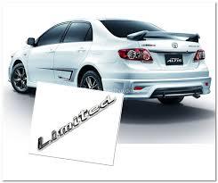 toyota altis toyota altis limited 3d chrome car end 12 16 2015 7 15 pm