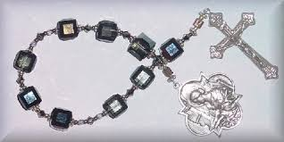 Chaplet Of The Holy Face St Cecilia Martyr Patroness Of Music Rosaries And Chaplets By