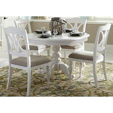 Pedestal Tables And Chairs Liberty Furniture Summer House I Round Table With Turned Pedestal