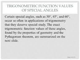 section 14 4 right triangles and function values ppt video