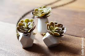 diy necklace pendant images Diy clay pendant succulent necklace tutorial consumer crafts jpg