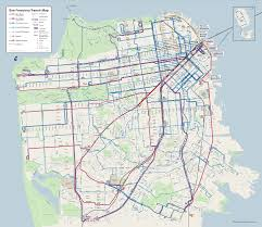 Bart San Francisco Map Stations by Behold The New Muni Map And Discontinued Stops News Fix Kqed