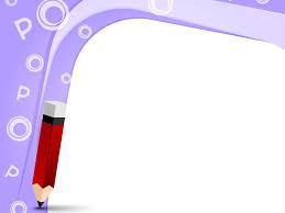 pencil frame backgrounds for presentation ppt backgrounds templates