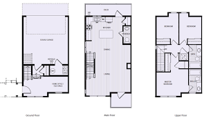 town home plans southern springs townhome plan c1