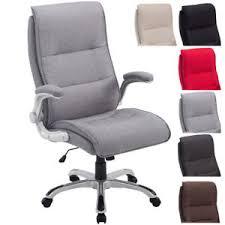 fauteuil bureau inclinable fauteuil bureau villach xl tissu chaise rembourré épais inclinable
