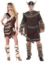 Valkyrie Halloween Costume Adults Deluxe Barbarian Viking Costume Mens Warrior Fancy Dress