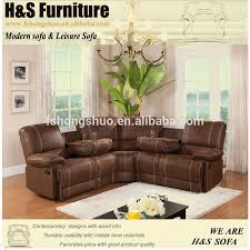 Recliner Sofa Uk Preciousinstants Brown Leather Corner Sofa Uk 2016 Images