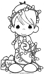 38 best coloring pages precious moments images on pinterest