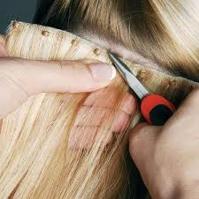 glue in extensions bead weft hair extensions no heat glue or