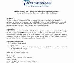 sle resume for biomedical engineer freshers jobs sle resumeoraculty position inspirational adjunct instructor