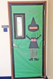 Frankenstein Door Decoration Cool Classroom Door Decorations For Halloween Onecreativemommy Com