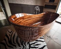 wood bathtubs wooden bath sculpture by nk woodworking seattle
